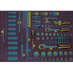 KS Tools - Module de douilles et access - 711.1011