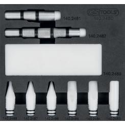 KS Tools - Jeu de pointes de - 140.2480