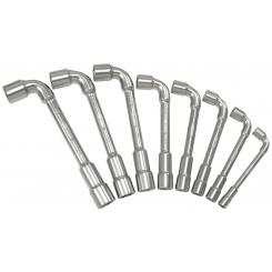 KS Tools - Jeu de 8 clés à pipe - 517.0452