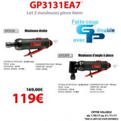 Général Pneumatic - Lot de deux machines - GP3131EA7