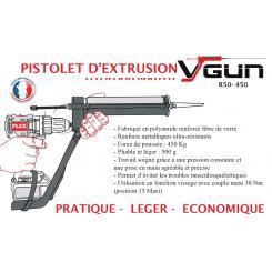 FLEX - Pistolet d'extrusion VGUN - 920294