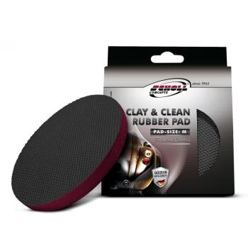 SCHOLL - Clay & Clean rubber pad - 22853