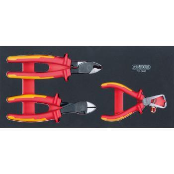 KS Tools - Module de 3 pinces isolées - 713.0003