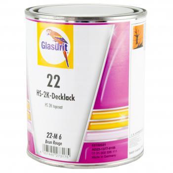 Glasurit - Peinture Ligne 22 - 22-M6