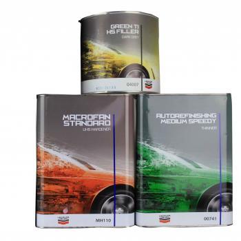 Lechler - Pack Apprêt 4004/4007 - pack apprêt green-ti