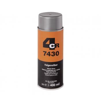 4CR - Peinture pour jantes aérosol - 7430.0400