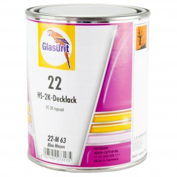 Glasurit - Peinture Ligne 22 - 22-M63