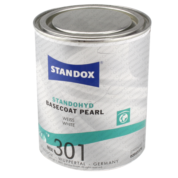 carross peinture standohyd mix 301 standox 1l 2055376 nacr blanc 1l. Black Bedroom Furniture Sets. Home Design Ideas