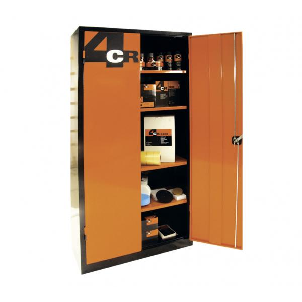 armoire m tallique 4cr 95x50x195cm 95 x 50 x 195cm. Black Bedroom Furniture Sets. Home Design Ideas