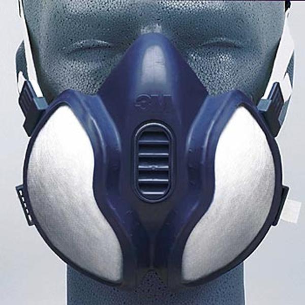 carross demi masque anti gaz pour carrossier 3m 06942 protection classe a2p3. Black Bedroom Furniture Sets. Home Design Ideas