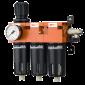 DeVilbiss - Filtre régulateur coalescent - FLRCAC-1